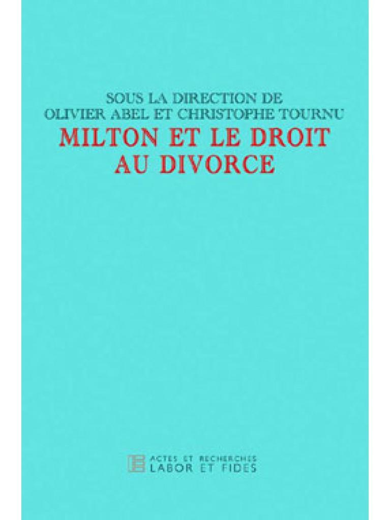 Milton et le droit au divorce