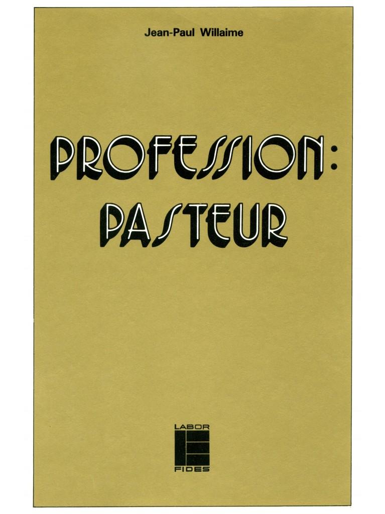 Profession: pasteur