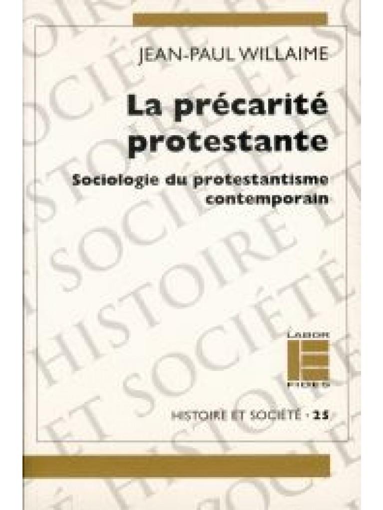 Précarité protestante (La)