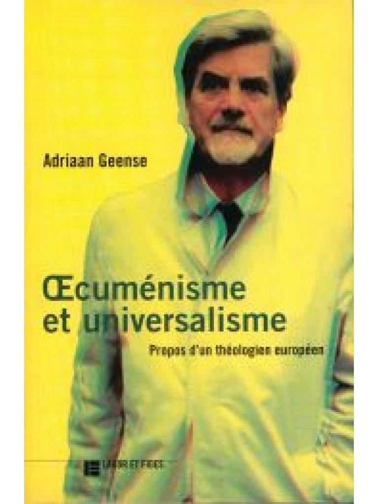 Œcuménisme et universalisme (épuisé)