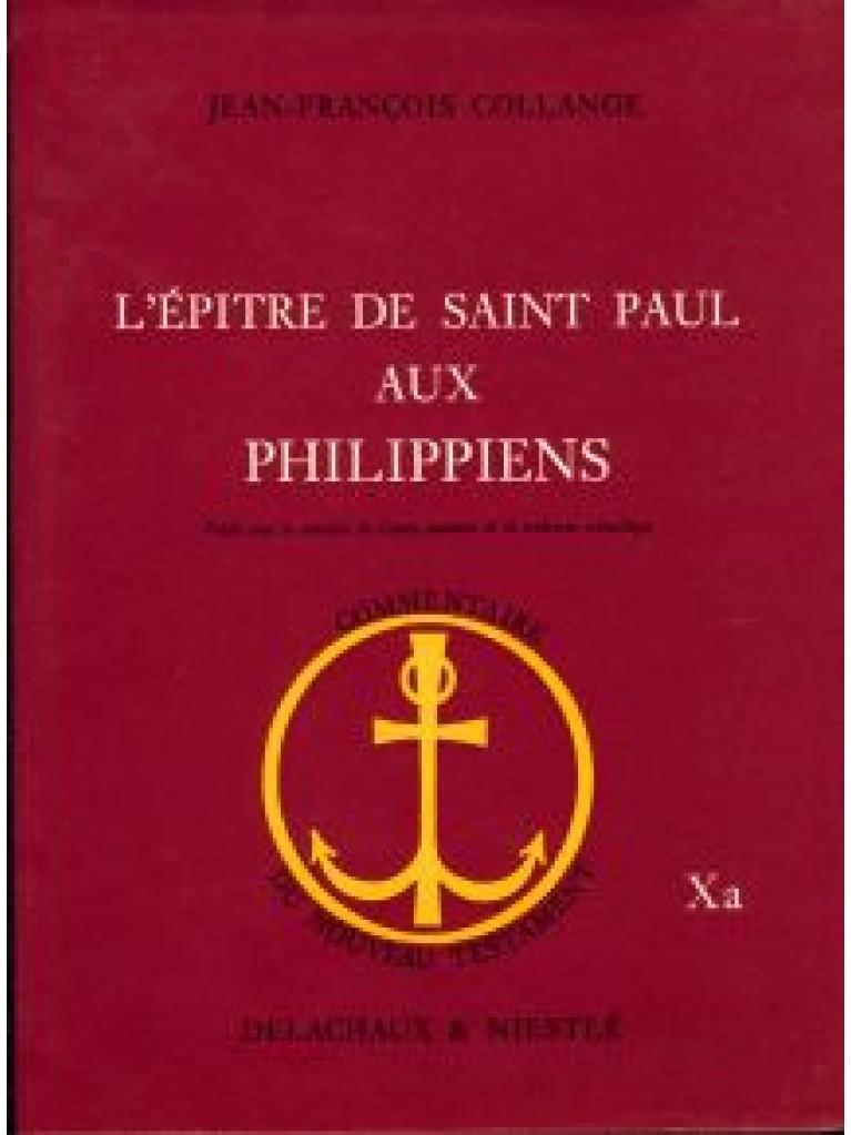 Epître de saint Paul aux Philippiens (L') (relié)