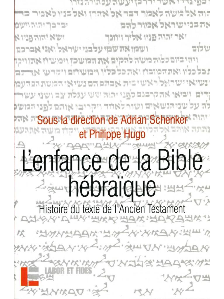 L'enfance de la Bible hébraïque