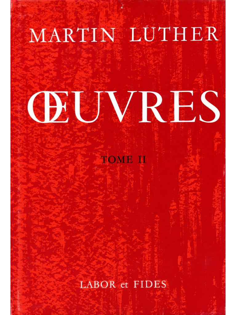 Oeuvres choisies, tome 02 (relié)