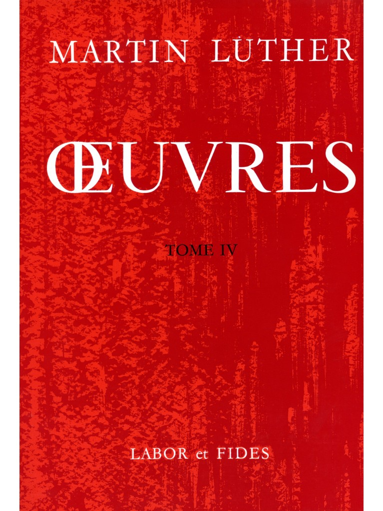 Oeuvres choisies, tome 04 (relié)