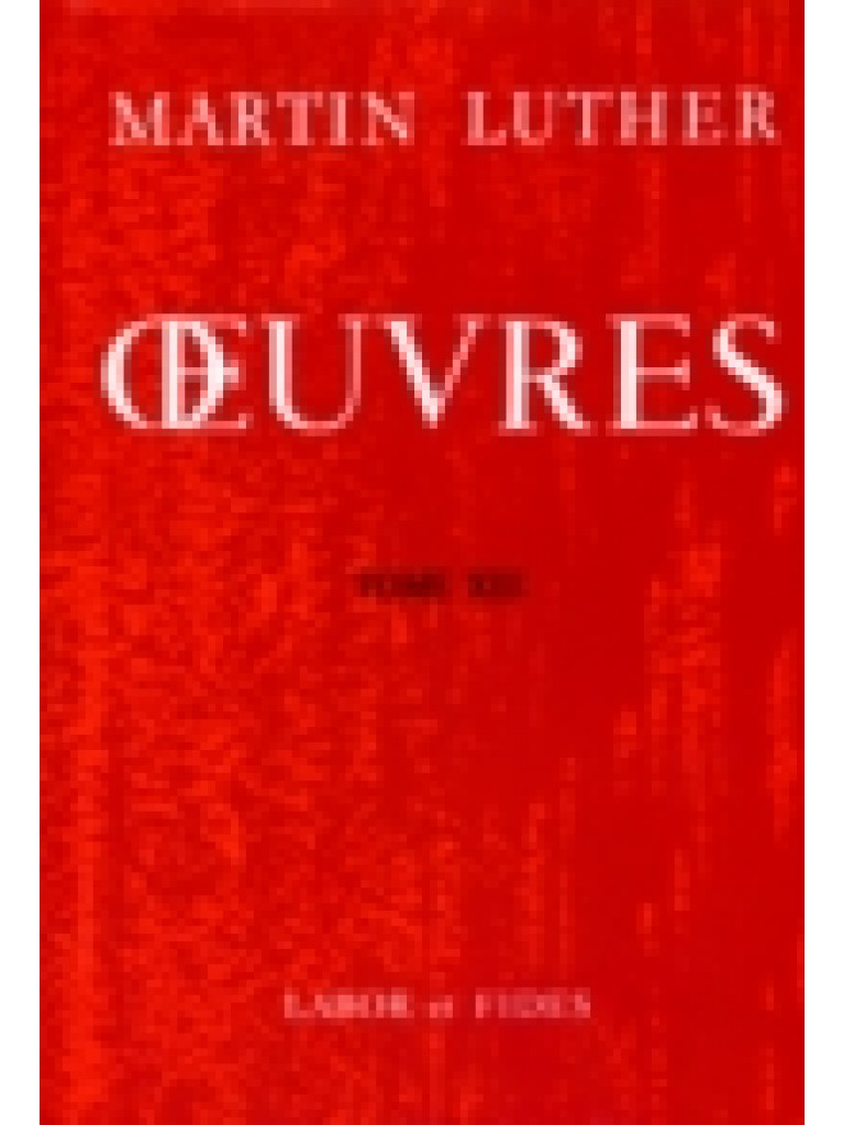 Oeuvres choisies, tome 13 (broché)
