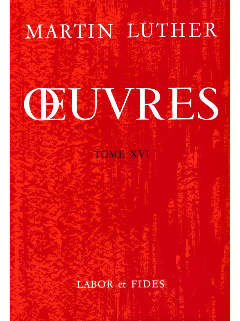 Oeuvres choisies, tome 16 (relié)