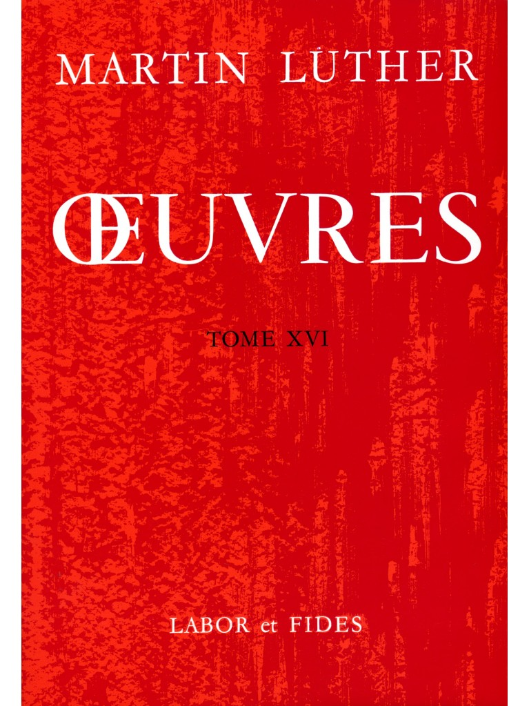 Oeuvres choisies, tome 16 (broché)