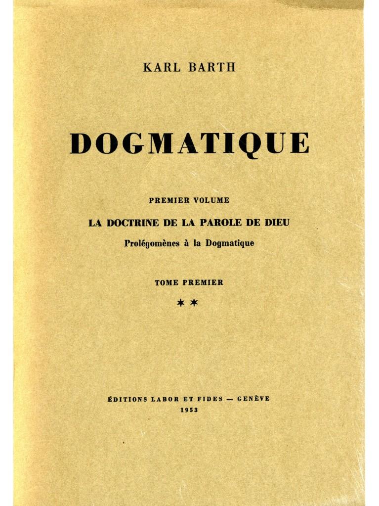 Dogmatique, tome 02 (broché)