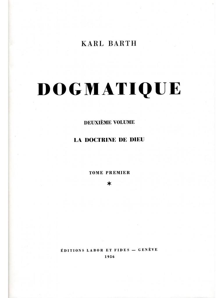 Dogmatique, tome 06 (relié)