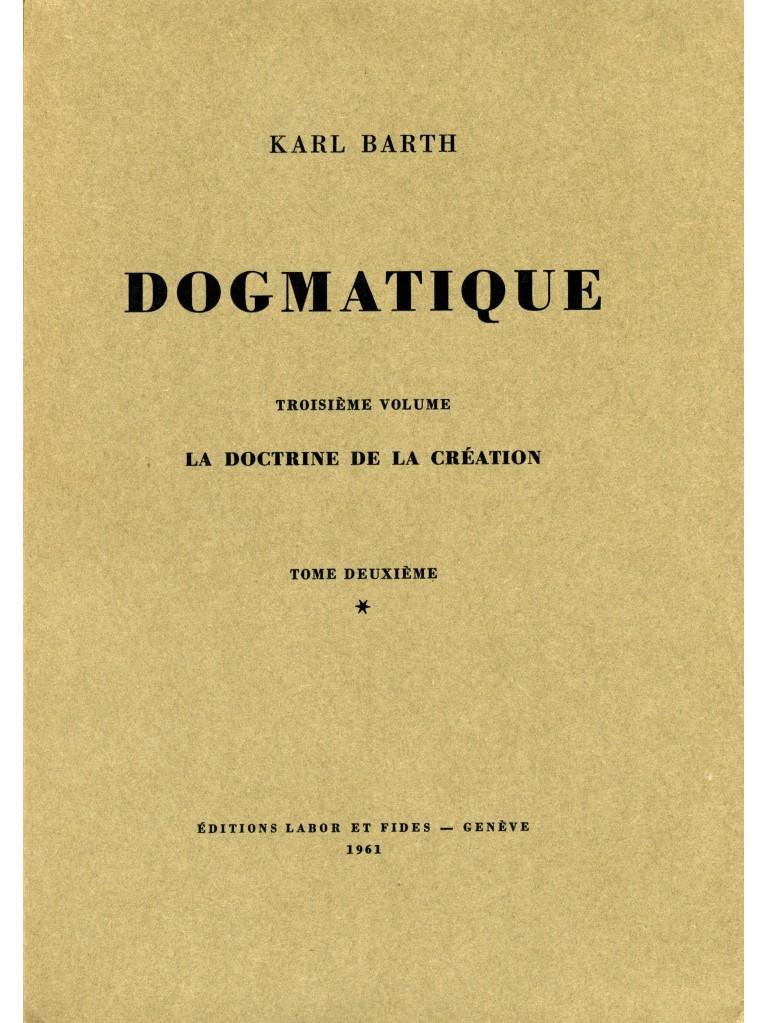 Dogmatique, tome 11 (broché)