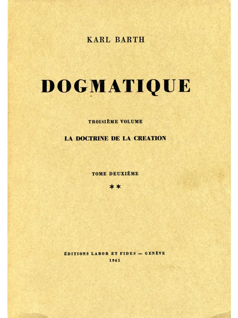 Dogmatique, tome 12 (broché)