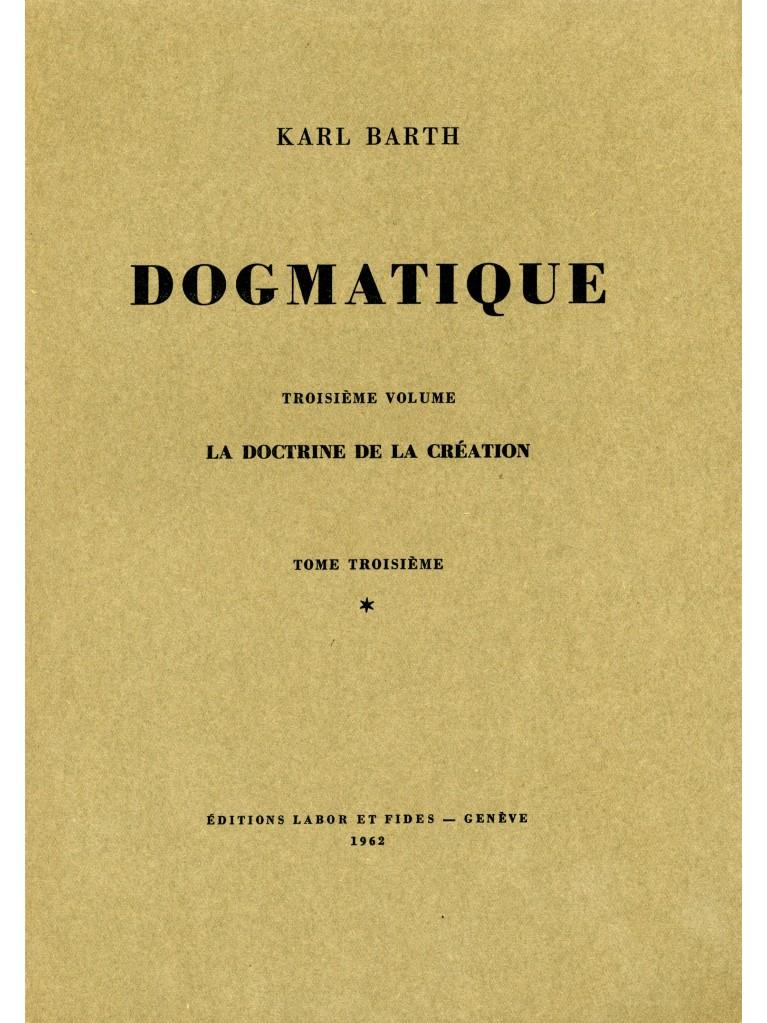 Dogmatique, tome 13 (broché)