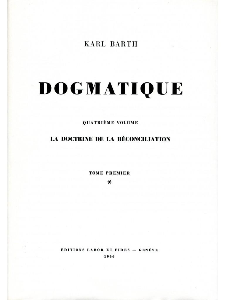 Dogmatique, tome 17 (relié)