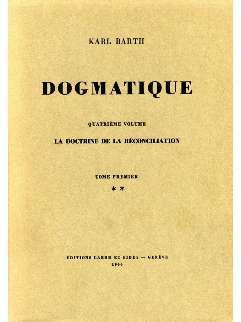 Dogmatique, tome 18 (broché)
