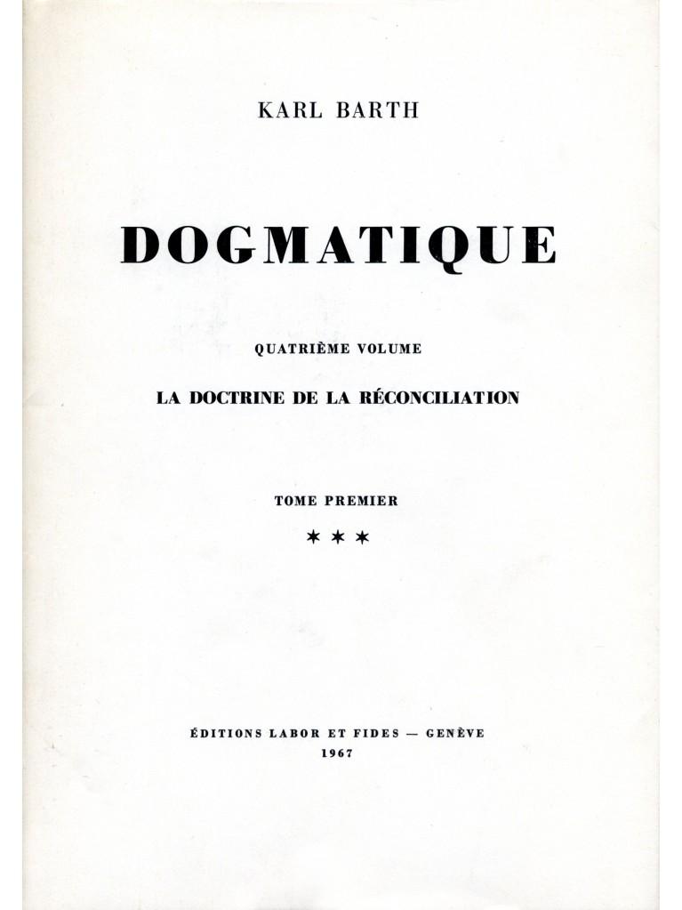 Dogmatique, tome 19 (relié)