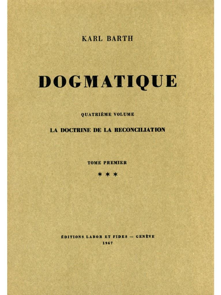 Dogmatique, tome 19 (broché)
