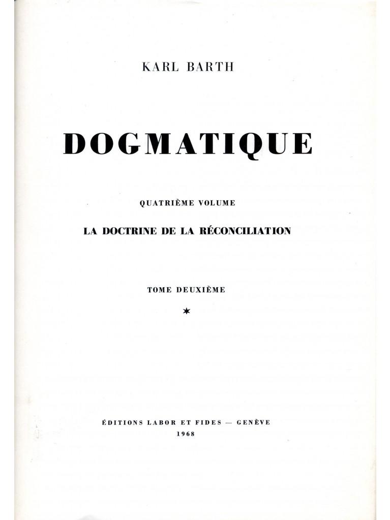 Dogmatique, tome 20 (relié)