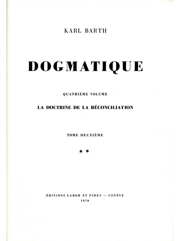 Dogmatique, tome 21 (relié)