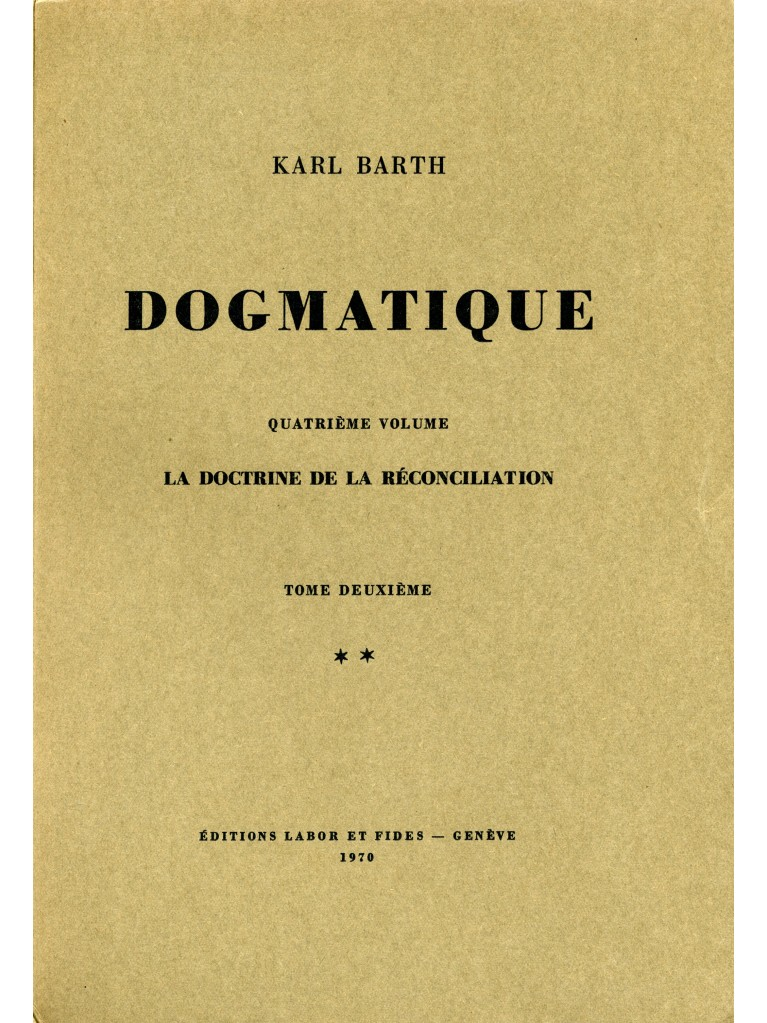 Dogmatique, tome 21 (broché)