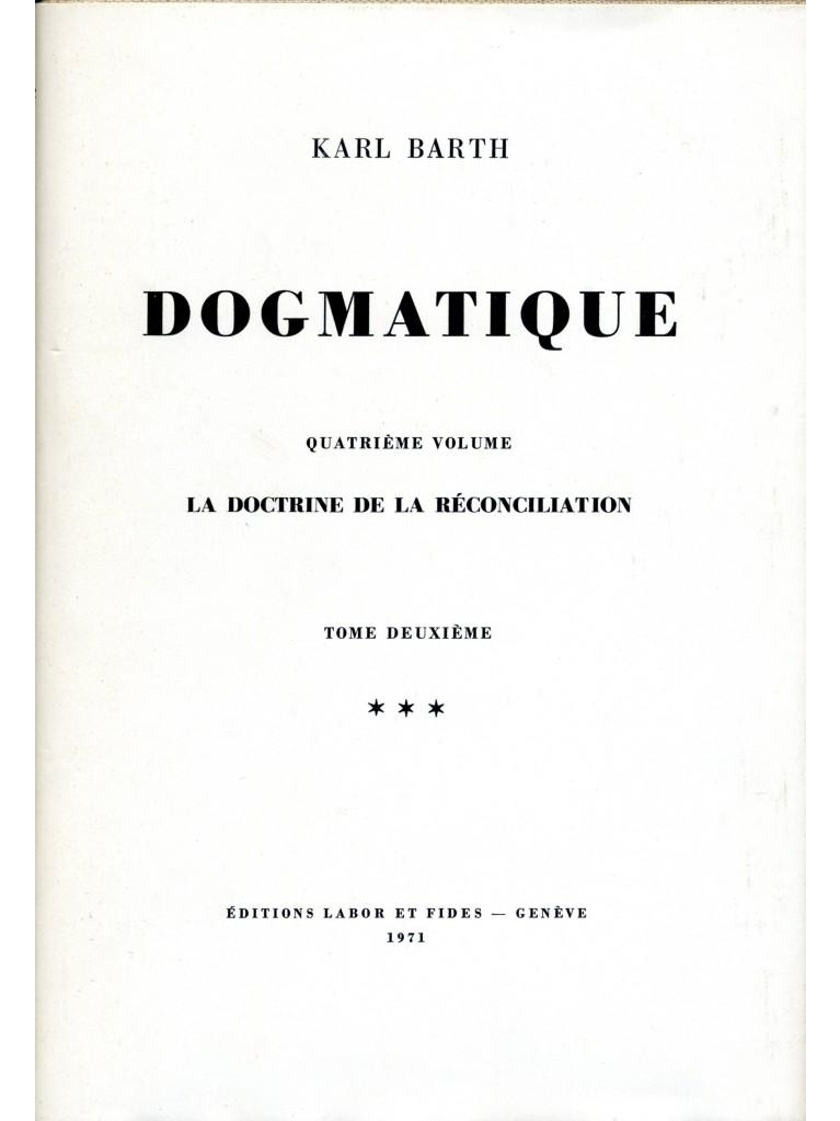 Dogmatique, tome 22 (relié)