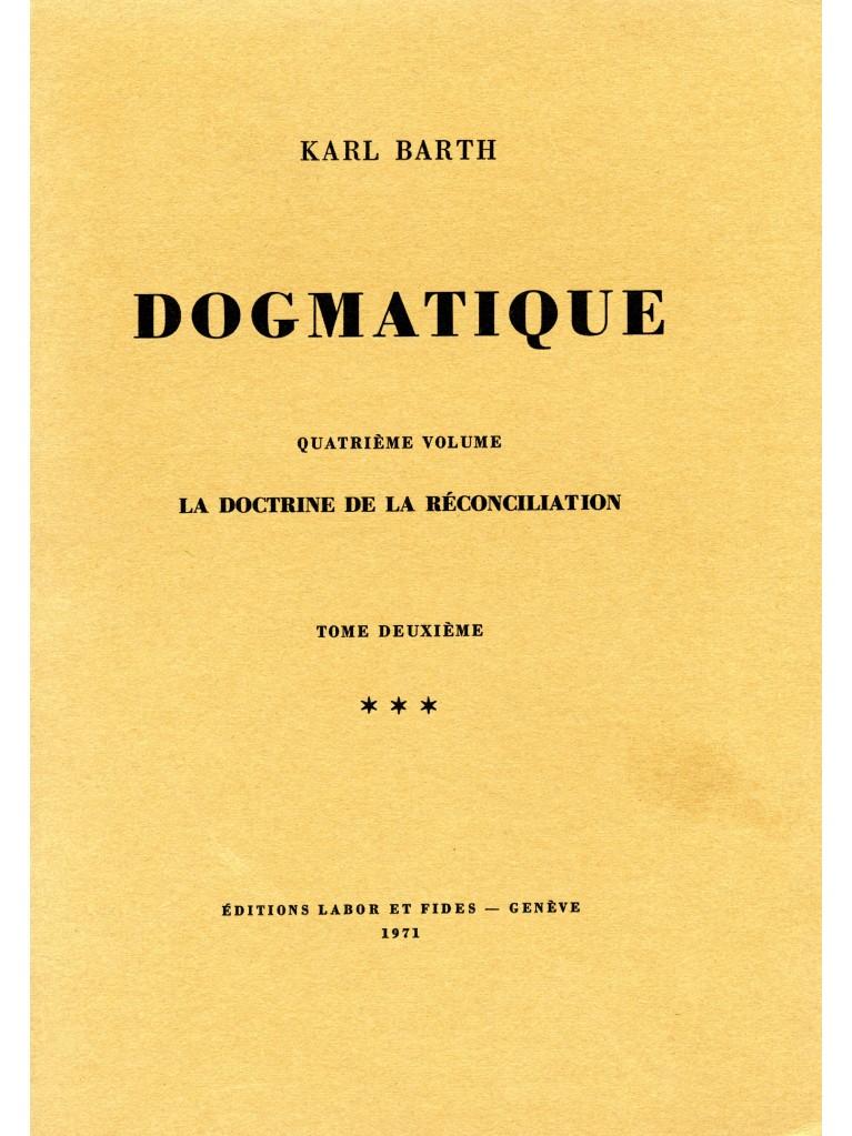 Dogmatique, tome 22 (broché)