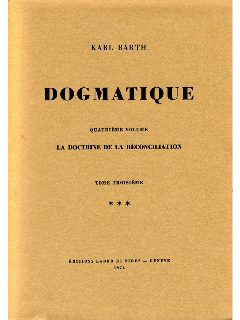 Dogmatique, tome 25 (broché)
