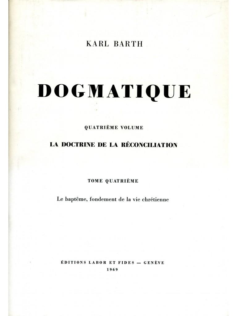 Dogmatique, tome 26 (relié)