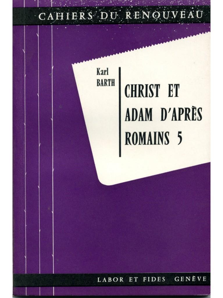 Christ et Adam (épuisé)