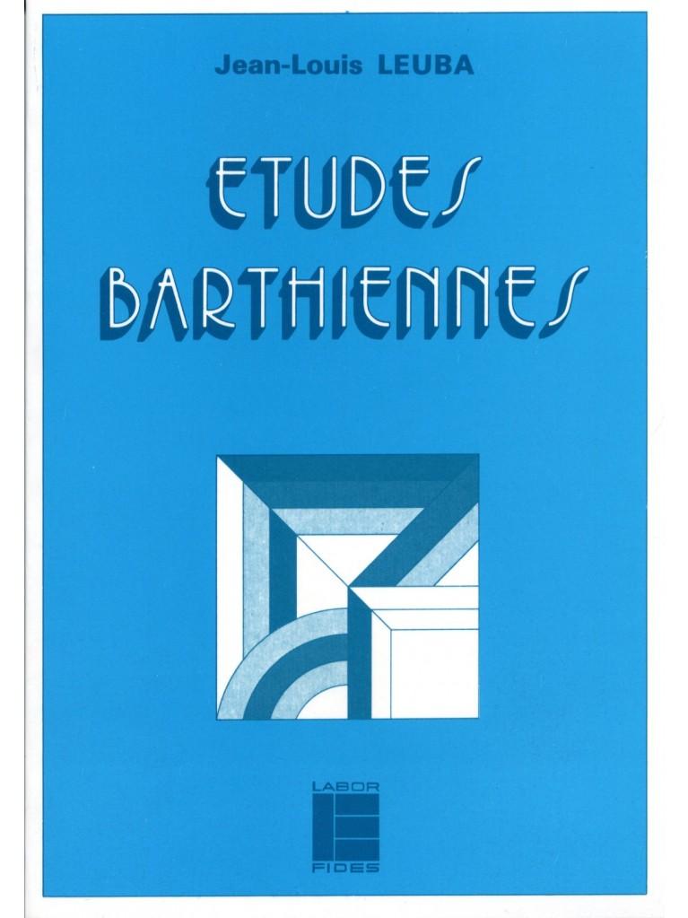 Etudes barthiennes