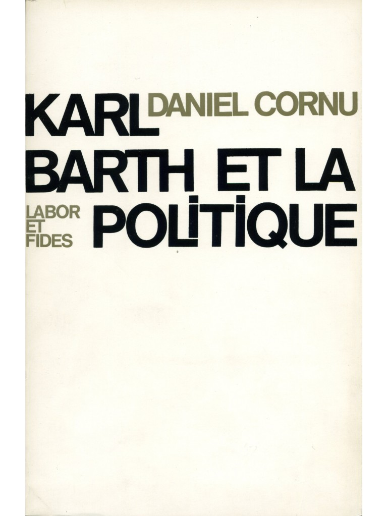 Karl Barth et la politique