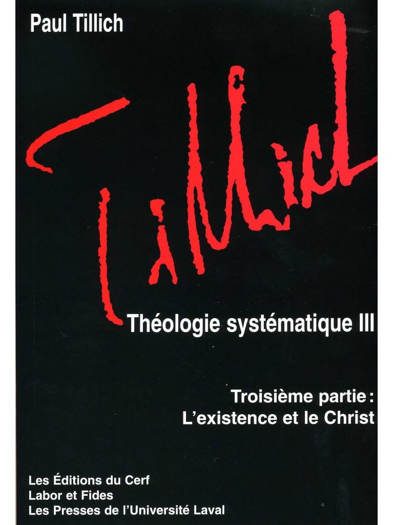 Théologie systématique III