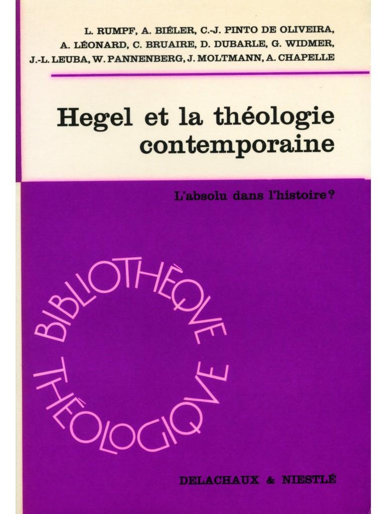 Hegel et la théologie contemporaine