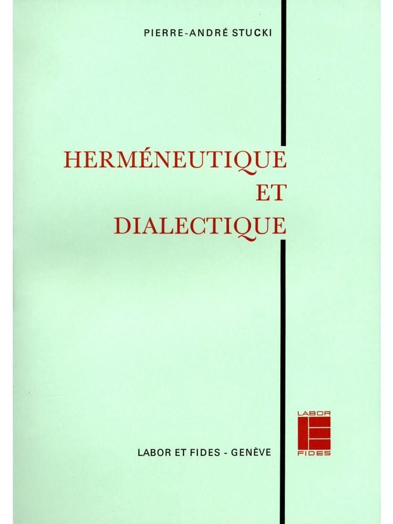 Herméneutique et dialectique