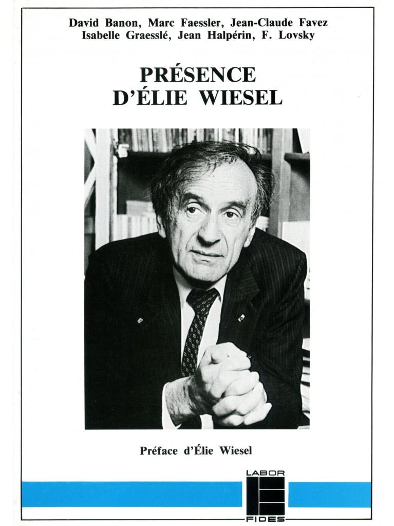 Présence d'Elie Wiesel