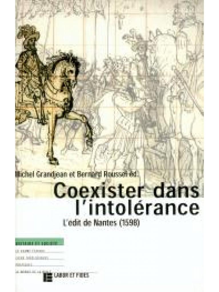 Coexister dans l'intolérance (épuisé)