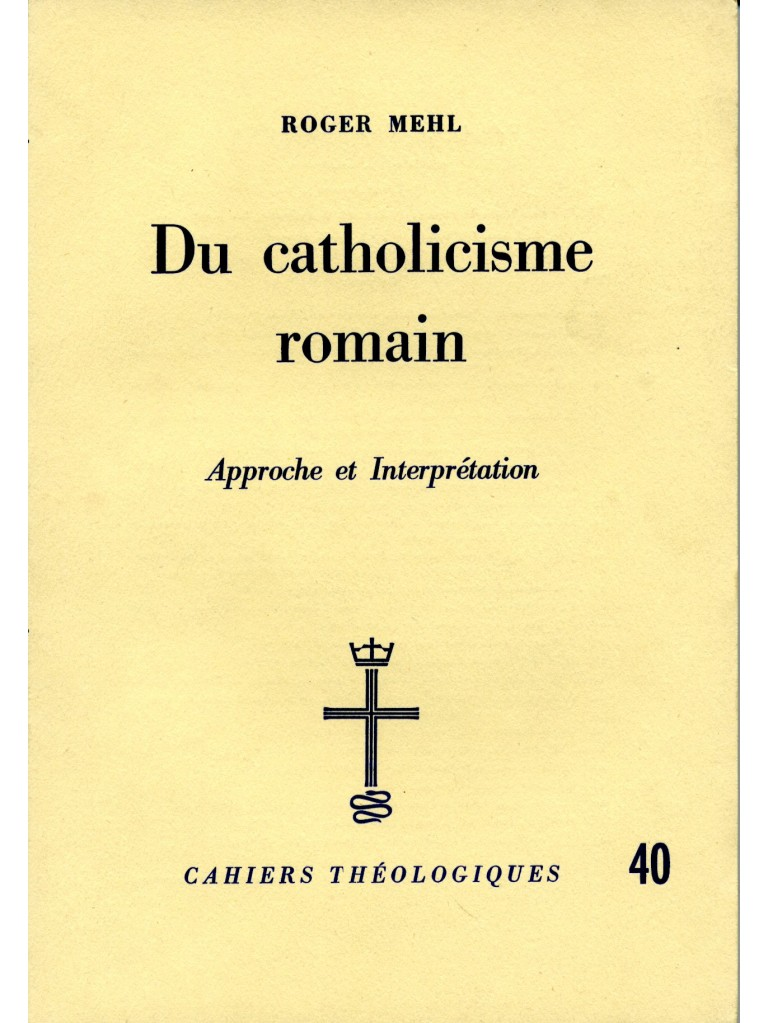 Du catholicisme romain
