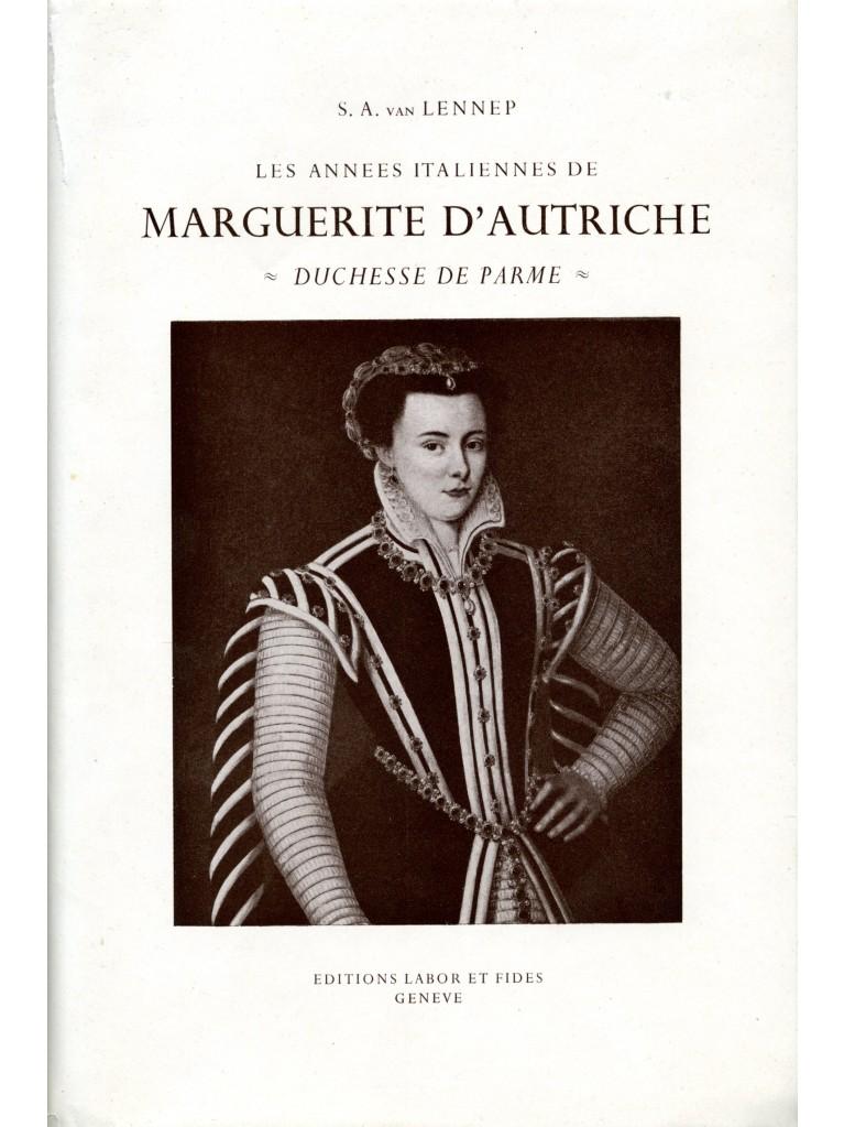Les années italiennes de Marguerite d'Autriche, duchesse de Parme