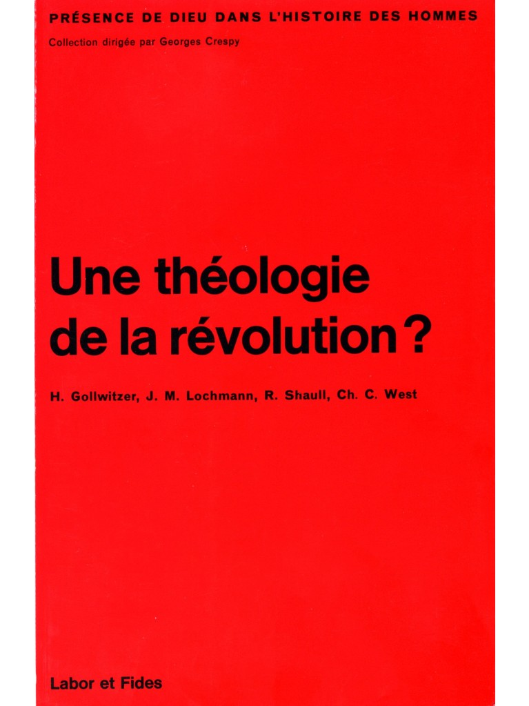Une théologie de la révolution ?