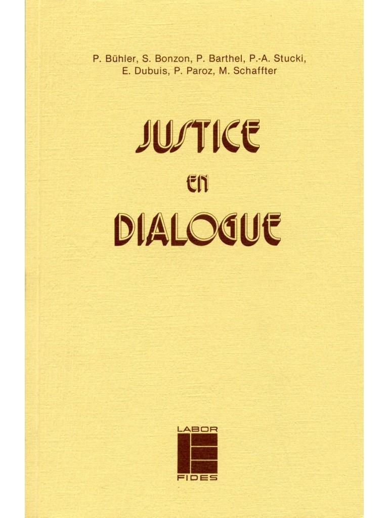 Justice en dialogue