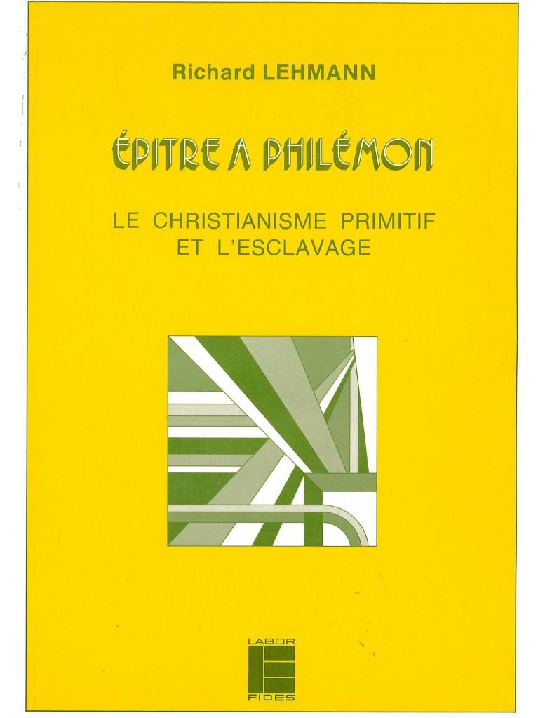 Epître à Philémon (épuisé)