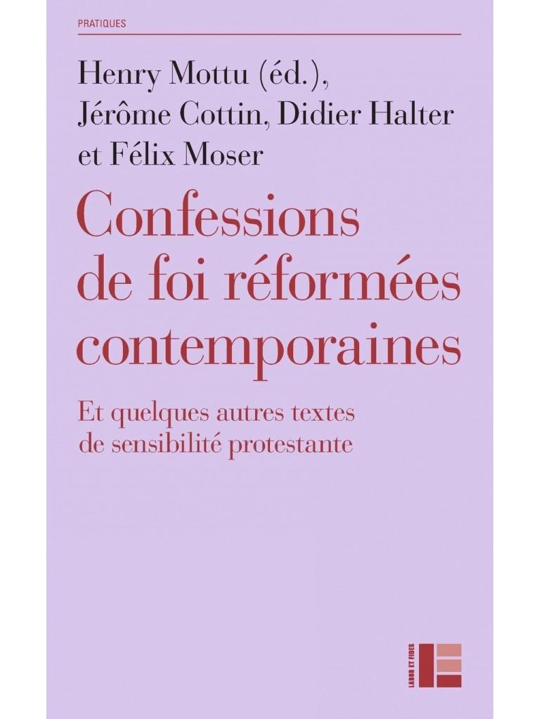 Confessions de foi réformées contemporaines – Titre imprimé à la demande