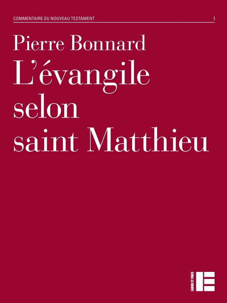 L'évangile selon saint Matthieu (épuisé)