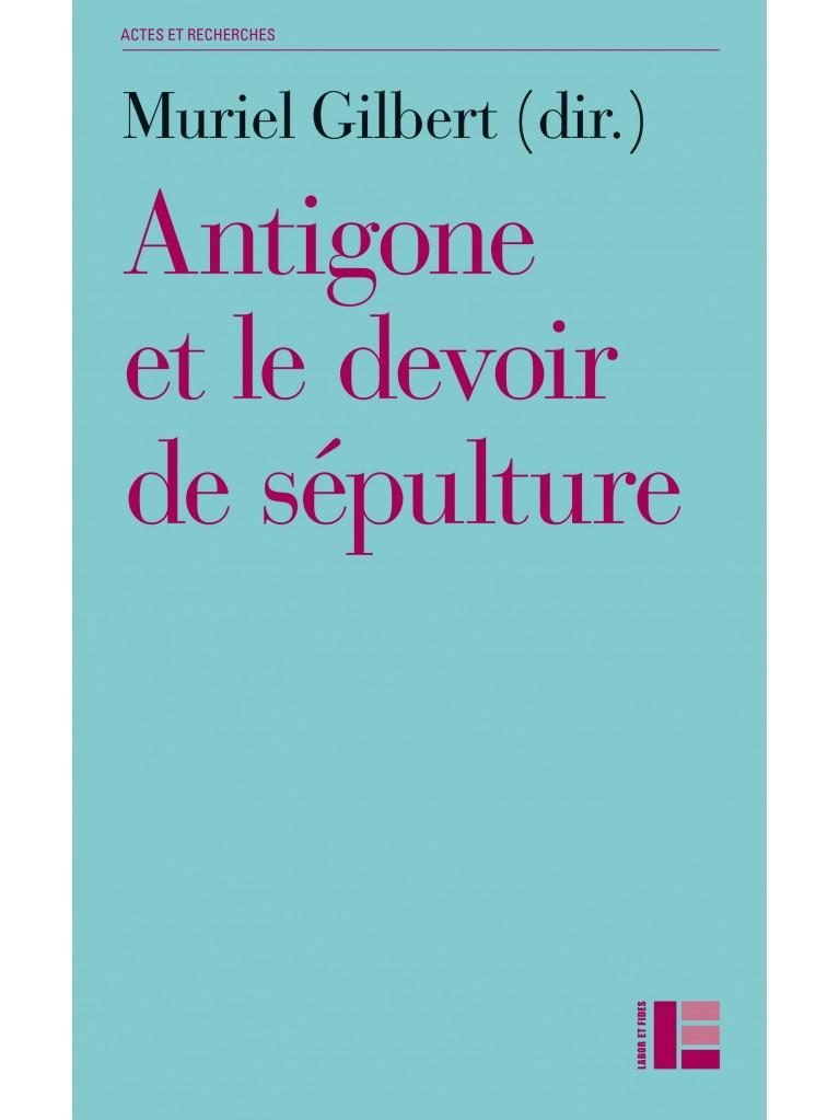 Antigone ou le devoir de sépulture - Titre imprimé à la demande