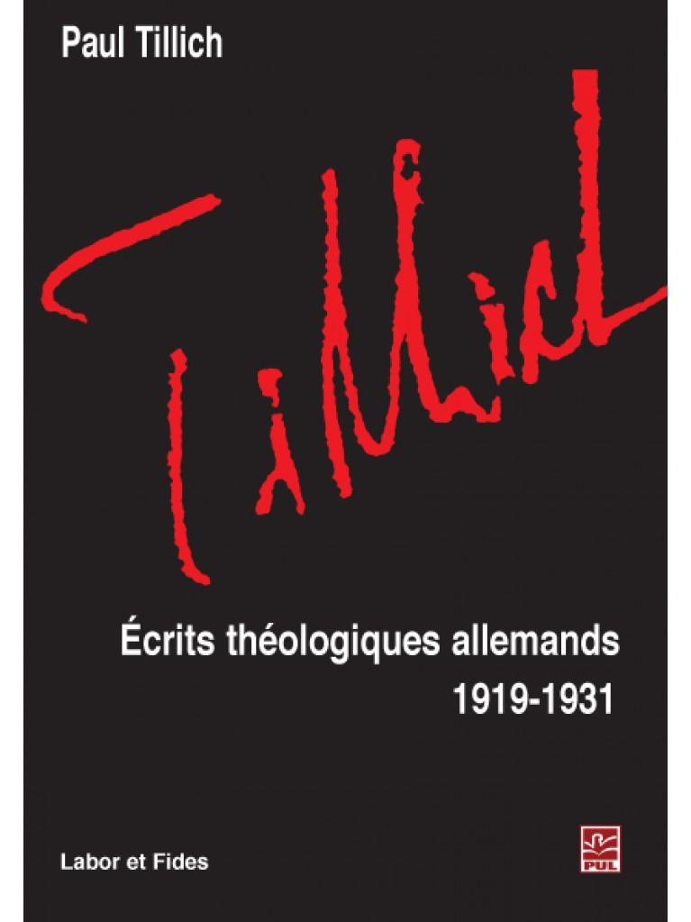 Écrits théologiques allemands