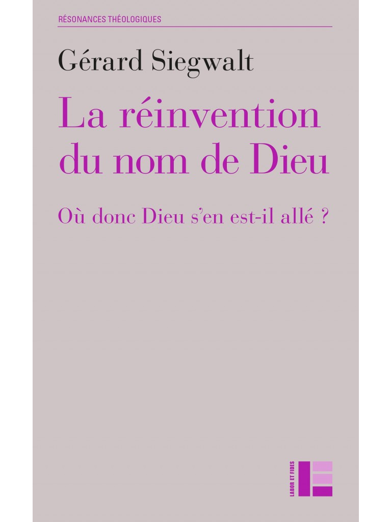 La réinvention du nom de Dieu