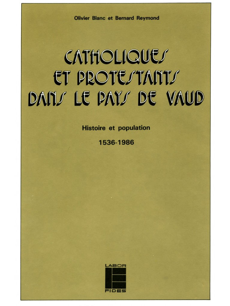 Catholiques et protestants dans le pays de Vaud