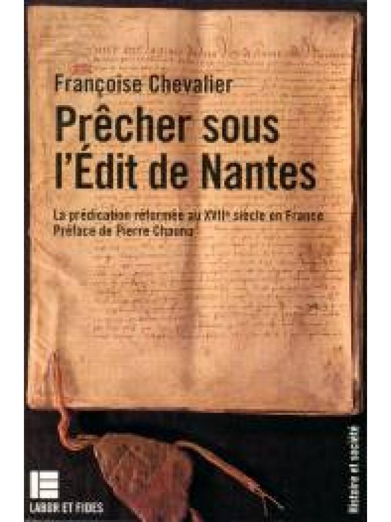 Prêcher sous l'Edit de Nantes