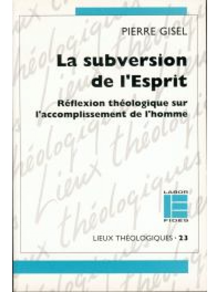 Subversion de l'Esprit (La)