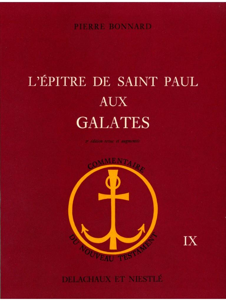 L'Epître de saint Paul aux Galates (relié) - Epuisé