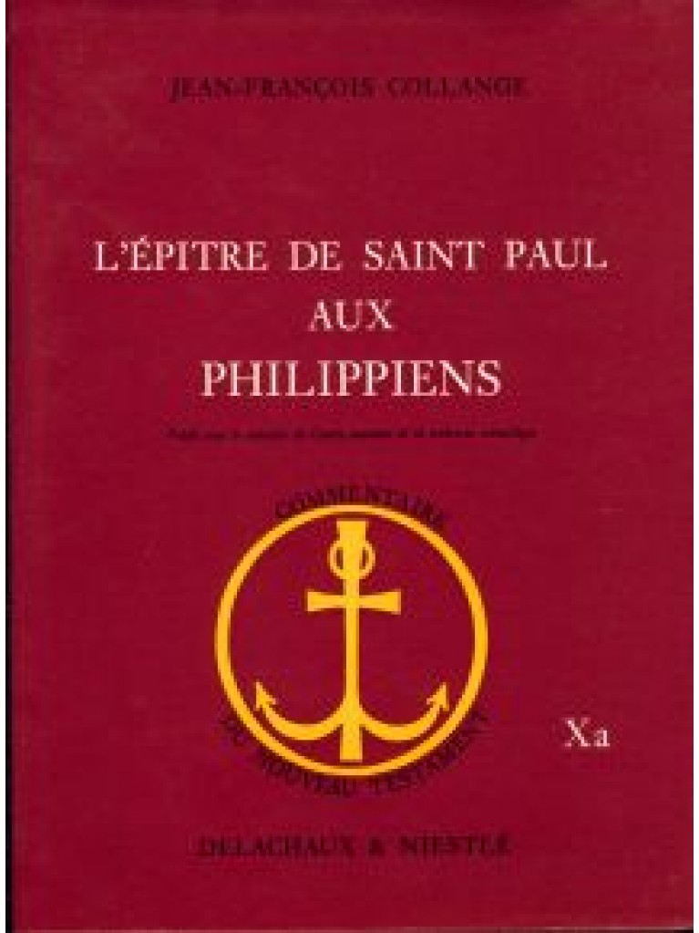 Epître de saint Paul aux Philippiens (L') (relié)